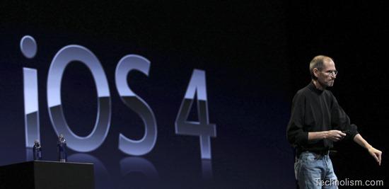 Apple iOS 4 Software update Released