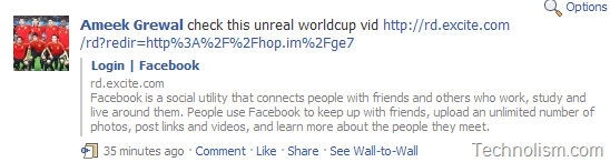 [Spam Alert]Beware of the latest Worldcup Video Spam on Facebook