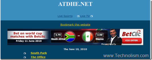 atdhe live football streaming online