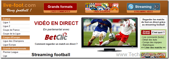 live-foot live football streaming online