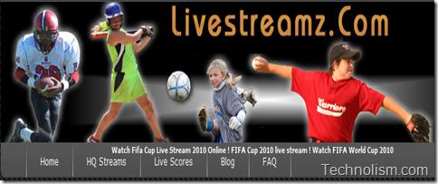 Livestreamz.com live football streaming online