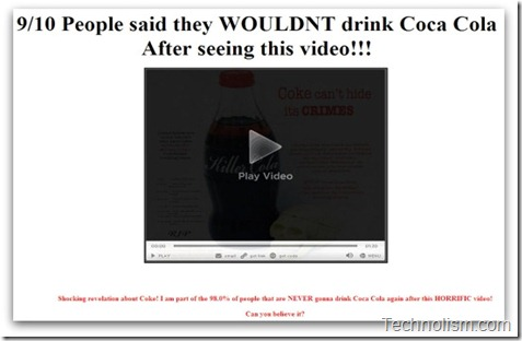 cocacola facebook scam - 2