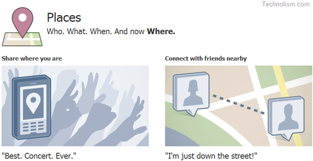 """How does the new Facebook Feature """"Places"""" Work? [Video]"""