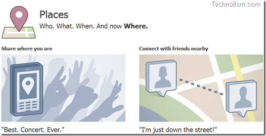 New Facebook Feature - Facebook Places