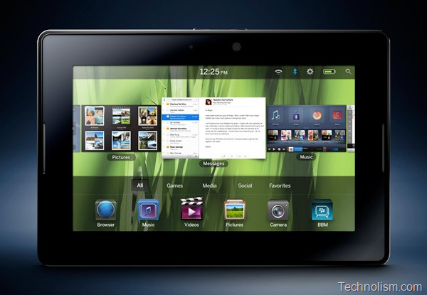 RIM introduces the iPad killer: Playbook, the Blackberry Tablet