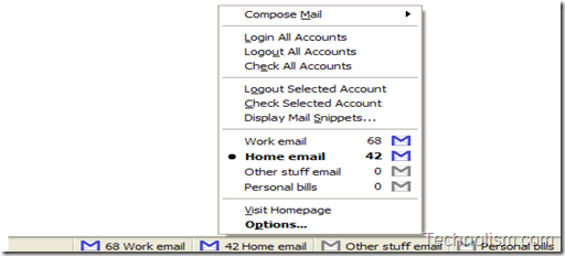Gmail manager firefox addon - most popular feature for gmail