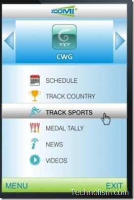 Zoomi CWG mobile app preview 2