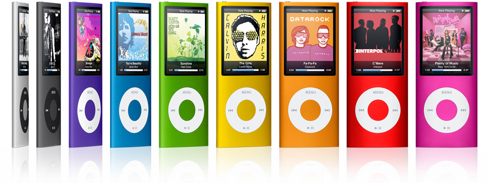 the ipod nano 4th gen