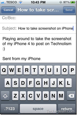 How to take an HD screenshot of your iPhone screen