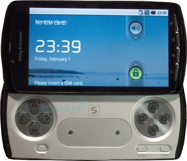 Here comes the Playstation Phone from Sony