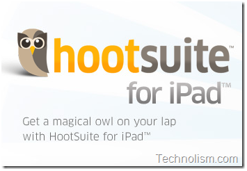 HootSuite for iPad is out – Free Twitter Client app available for download