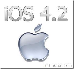apple ios 4.2 released