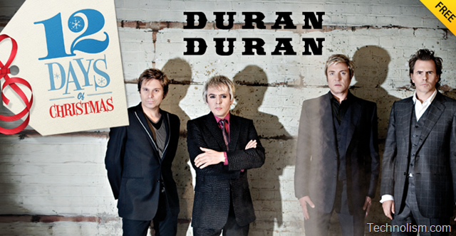 """Apple iTunes 12 days of Christmas Day 3 Giveaway: Duran Duran """"From"""