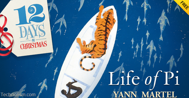 Apple iTunes 12 days of Christmas Day 5 giveaway – Life of Pi iBook Free download [UK]