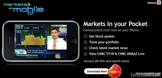Markets on Mobile – Download Official Moneycontrol.com app for iPhone