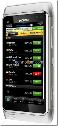 Moneycontrol.com Official Nokia application