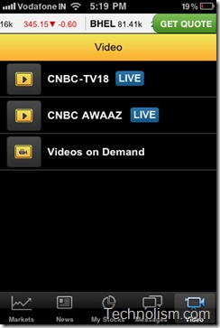 moneycontrol markets on mobile Watch CNBC Live Video