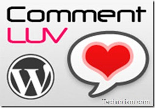 Commentluv on Technolism
