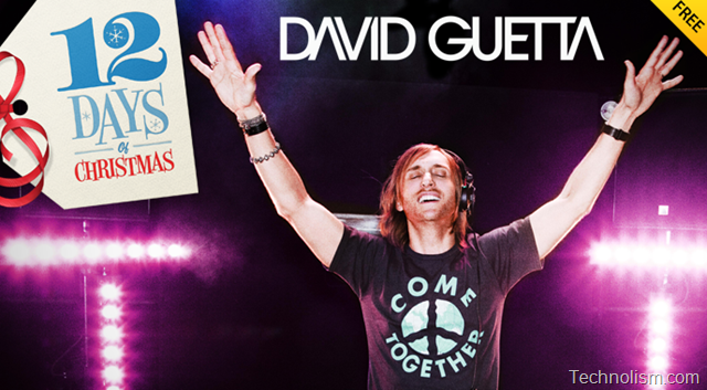 iTunes 12 days of Christmas Day 12 (last) Giveaway: One Love Video Bundle by David Guetta [UK]