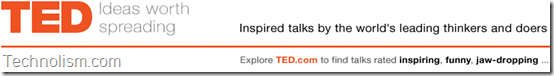 TED Talks Youtube channel - Inspired talks by the world's leading thinkers and doers