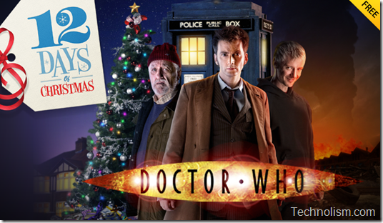 Apple 12 days of Christmas Doctor Who End of Time Part 1 free download