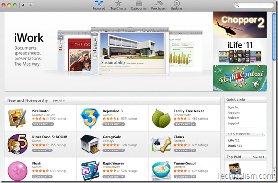 Overview of Apple mac app store
