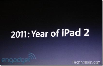 2011 - Year of the iPad 2