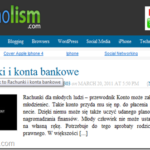 Technolism - Rachunki i konta bankowe - KLAMKA13303 WP spam user