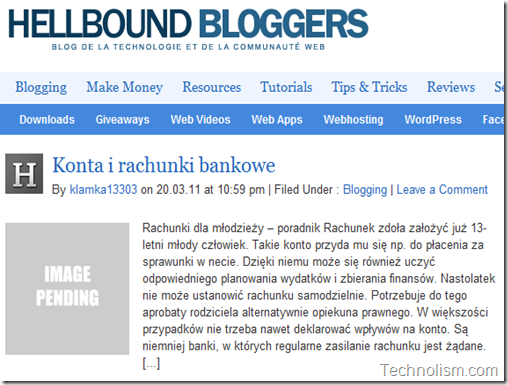 HellBoundBloggers - Rachunki i konta bankowe - KLAMKA13303 WP spam user