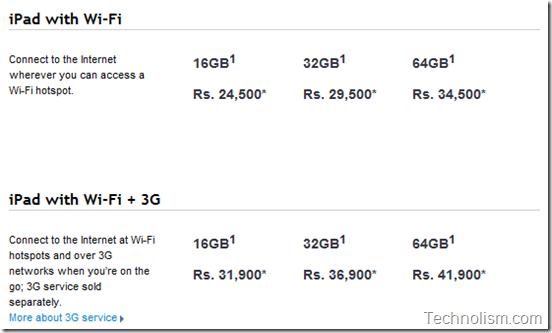 Apple iPad 1 prices in India  reduced