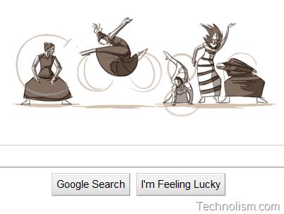 Animated Google Doodle celebrates mother of modern dance, Martha Graham's 117th birthday