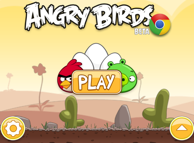 Play Angry Birds Online in Google Chrome or any other Browser