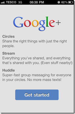Google Plus iOS App - Features