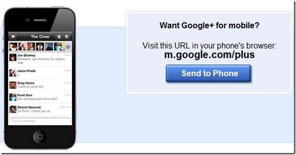 Google Plus iOS App for iPhone