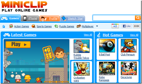 MiniClip.com - Play Flash Online Games