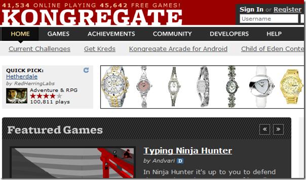 Kongregate - Free Online Games