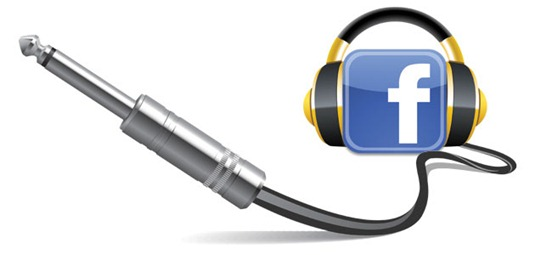 Facebook Music Ticker