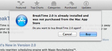 Mac App Store now warns you before re-buying installed apps