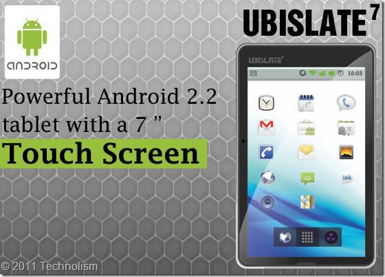Aakash - Indias cheapest tablet - UBISlate DataWind