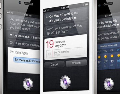 Siri Voice Command System on iPhone 4S