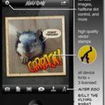 Halftone iphone app