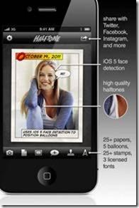 Halftone iPhone App Photo