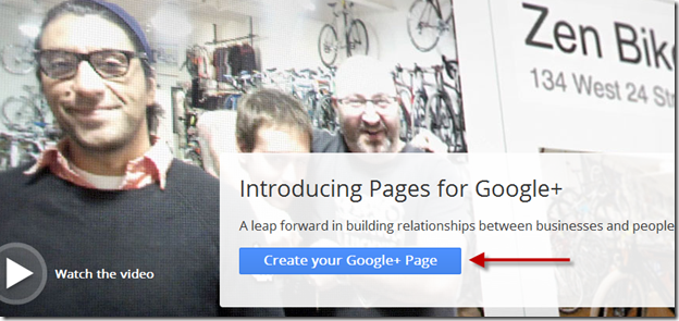 How to create a Google+ Brand page