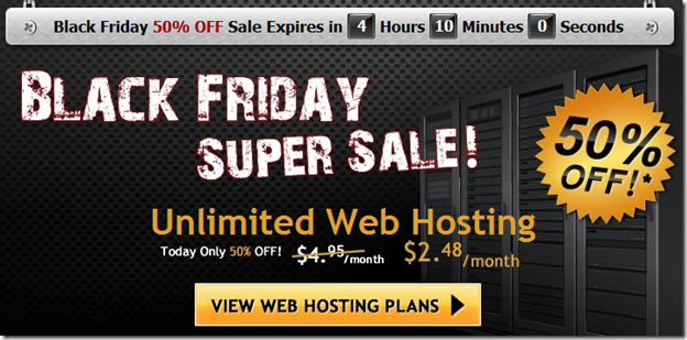 Hostgator Black Friday Deal