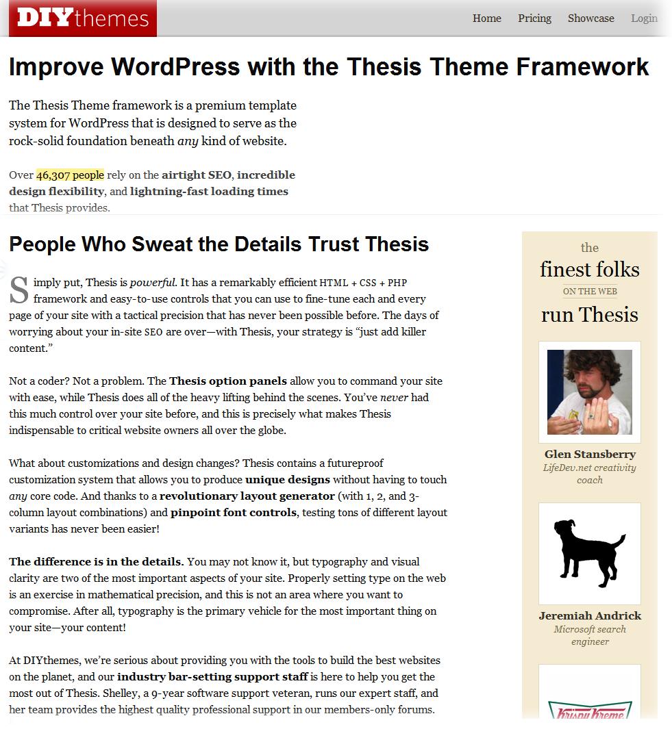 DIYThemes for WordPress - Thesis