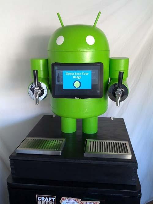 Kegdroid - Android Beer Dispenser