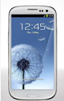 Samsung Galaxy S3 - Design and Display