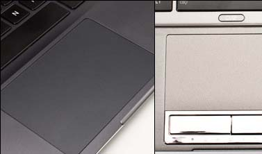 Touchpad in Toshiba Portege Ultrabook