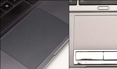 Touchpad in Toshiba Portege Ultrabook