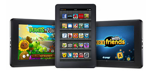 "Amazon Kindle Fire - Full Color 7"" Multi-Touch Display"